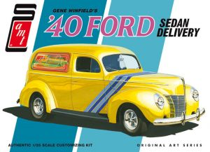 Model Plastikowy Do Sklejania AMT (USA) - Gene Winfield 1940 Ford Sedan Delivery