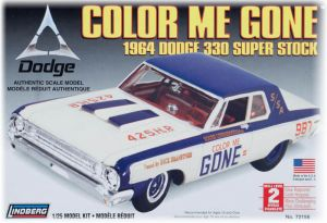 Model Plastikowy Do Sklejania AMT (USA) - 1964 Dodge color me gone