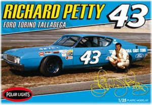 Model Plastikowy Do Sklejania Polar Lights (USA) - 1969 Richard Petty NASCAR Torino Talla
